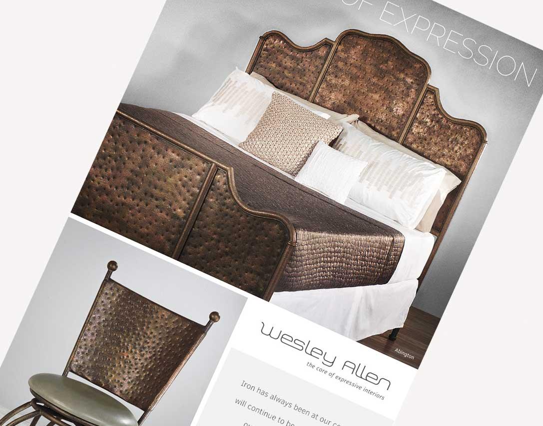 Wesley Allen Case Study - Furniture Branding